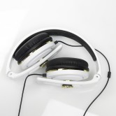 CARBONCANS HEADPHONES WHITE GOLD FOLDED WEB
